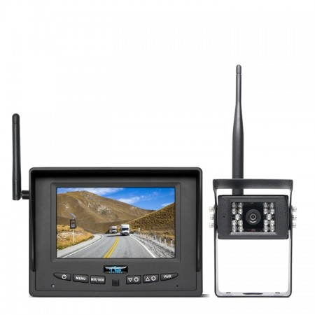 "Hanscom K HC-651153 | Wireless Backup Camera System | 5"" Single Screen Monitor"