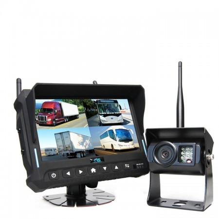 "Hanscom K HC-644252 | 7"" Wireless Backup Camera System with Built-in DVR"