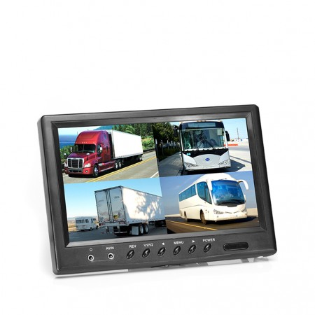 "HC-M611 | 9"" TFT LCD Digital Quad View Color Monitor"