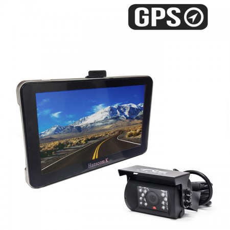 HC-082533 | GPS Navigation System with CCD Backup Camera