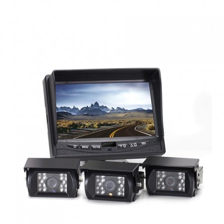 Hanscom K Backup Camera System with Three Cameras HC-082509