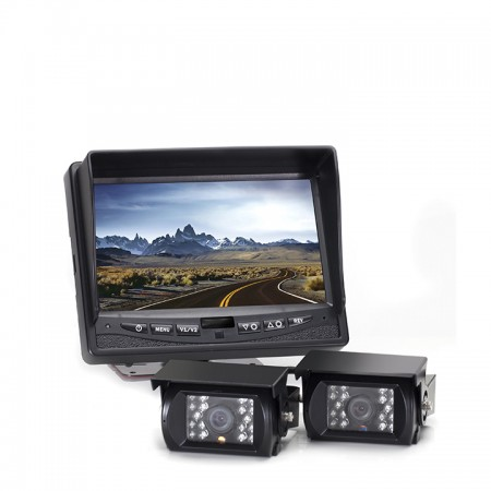 Hanscom K Backup Camera System with Two Cameras HC-082508