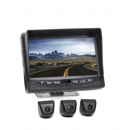 Hanscom K Backup Camera System with MV1 Cameras HC-0825MV3