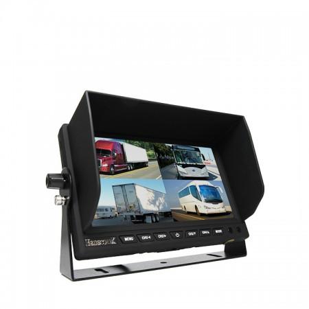 "Hanscom K 7"" LED Quad View Color Monitor HC-700Q"