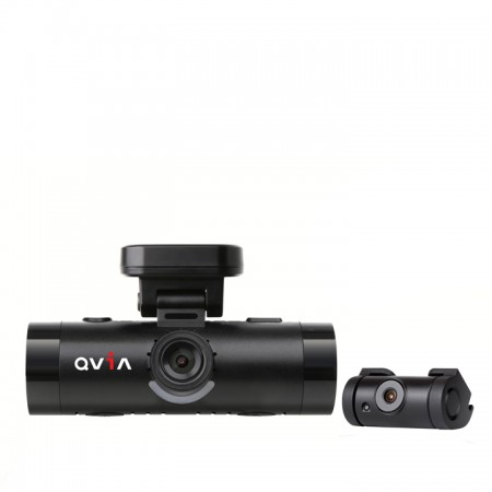 QVIA AR790 2 Channel Full HD Blackbox Dash Camera