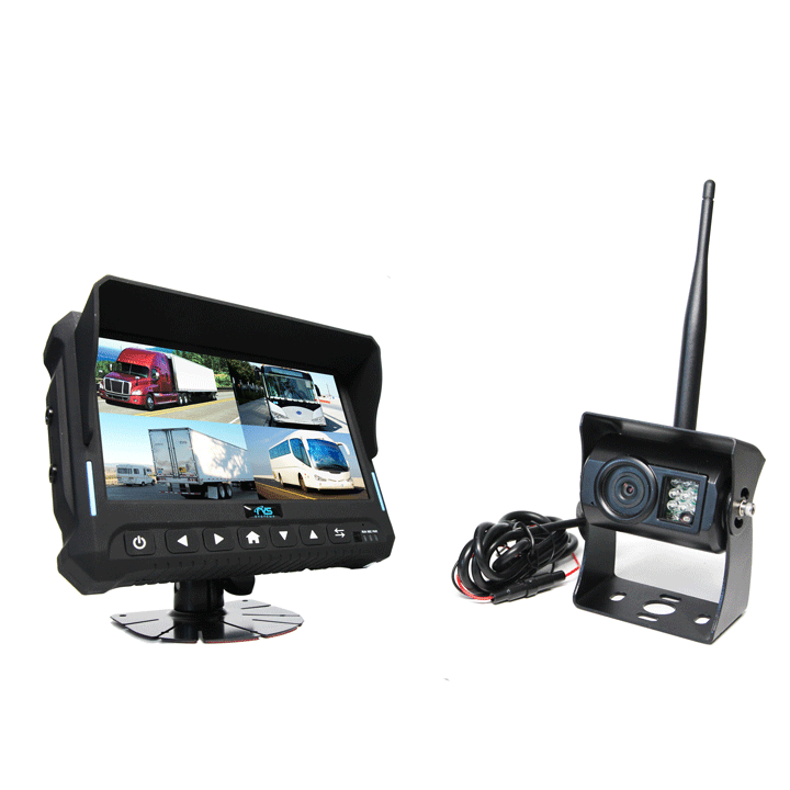 Hc 644252 7 Quot Wireless Backup Camera System With Built In