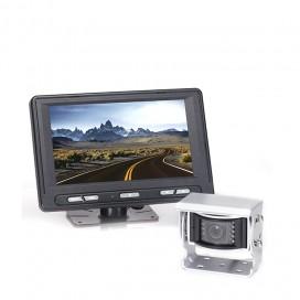 HC-082576 | Backup Camera System One (1) Camera Setup with Waterproof Flushmount Monitor
