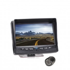 "HC-0825009 | Backup Camera System One (1) Flush Mount Camera Setup with 7"" Display"