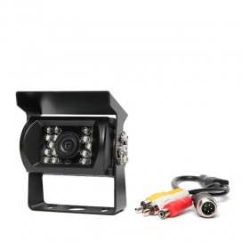HC-508 | 130° Backup Camera with 18 Infra-Red Illuminators (RCA Connectors)