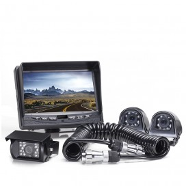 HC-082506T | Backup Camera System with Side Cameras and Quick Connect Kit