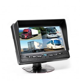 "HC-M602 | 7"" TFT LCD Digital Quad View Color Monitor"