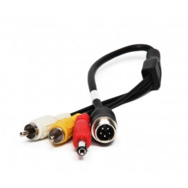 HC-A402 | 5 Pin Male to RCA Male Adaptor