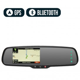 HC-M627 | OEM Rear View Replacement Mirror Monitor with Navigation and Bluetooth