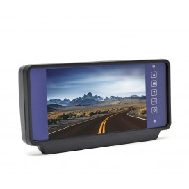 "HC-M608 | 7"" Rear View Clip-On Mirror Monitor"