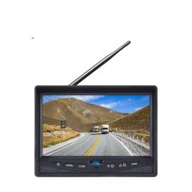 "HC-35WM | 130° Wireless 7"" Single Screen Monitor With Wired Side Camera Inputs"