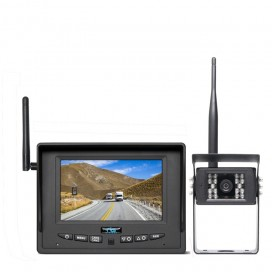"HC-255W | Wireless Backup Camera System With 5"" Monitor (Dual Channel)"