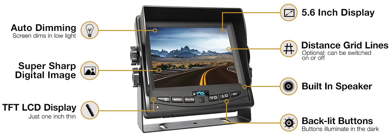 HC-M604 Monitor Highlights
