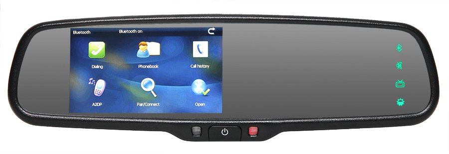 Replacement Mirror Monitor Bluetooth Menu
