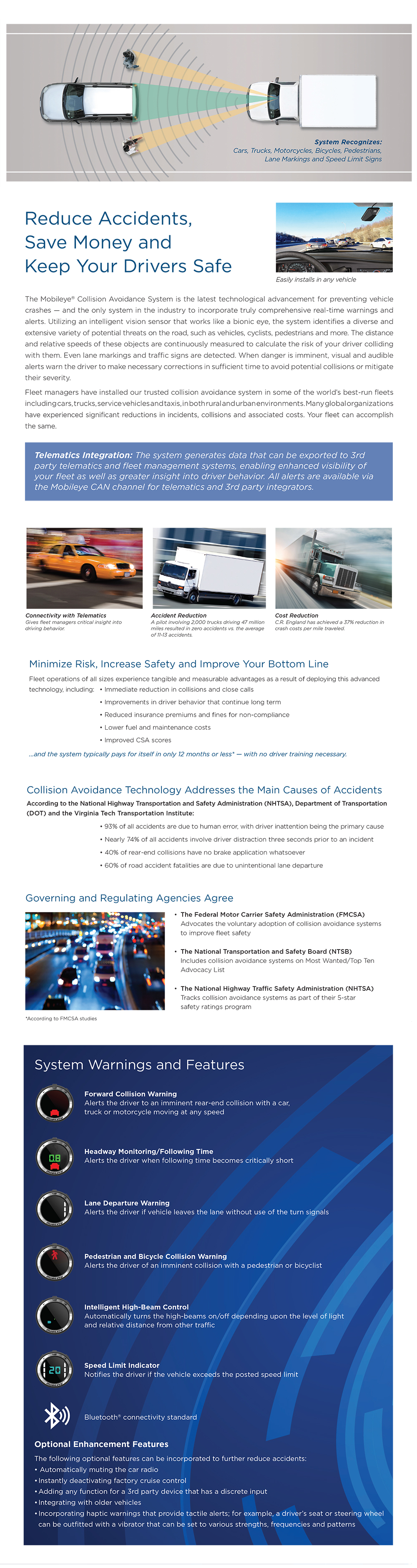 HC-Mobileye Product Highlights